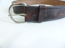 M&F WESTERN PRODUCTS INC LEATHER BELT SIZE 34 Duck Design