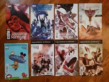 Lot SQUADRON SUPREME issues 2-4, 10-12 plus Young Variant #9 Marvel 2016
