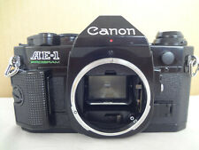Canon AE-1 Program SLR Camera black body with manual from Japan exc.+++ con 2562