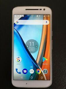 Motorola Moto G4 XT1622 2GB RAM 16GB ROM 13MP dual SIM, white, unlocked