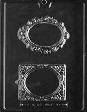 Fancy Picture Frames - Chocolate & Soap Mold - M180