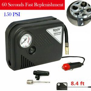 12V DC 150PSI Auto Car Tire Inflator Portable Electric Air Pump Compressor