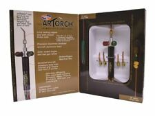 UNIWELD ARTORCH/LITTLE TORCH COMPLETE OUTFIT WITH OXYGEN/PROPANE REGULATORS