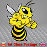 Mancunian Bee Sticker, Angry  Manchester Bee Proud to be Car Window Stickers a47