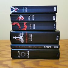 Twilight series books and the host. Stephenie Meyer. Including bree Novella used