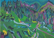 Ernst Ludwig Kirchner: Landschaft. Fine Art Print/Poster