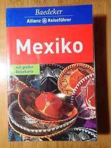 Baedeker Reiseführer Mexiko mit Karte
