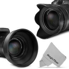 67MM Petal Flower & Collapsible Rubber Lens Hood for Canon EF-S 18-135mm Lens