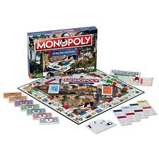 Stirling Monopoly Board Game Teen Age to Adult Family Fun Play Game