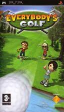 EVERYBODY'S GOLF GAME GIOCO SONY PSP NUOVO SIGILLATO