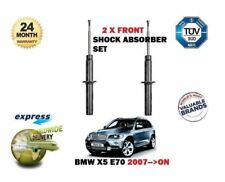 FOR BMW X5 E70 SDRIVE + XDRIVE 2007-->ON  2x FRONT SHOCK ABSORBER SHOCKER SET