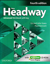 NEW HEADWAY ADVANCED Fourth Edition Workbook with Key & iChecker CD-ROM @New@