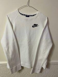 Nike White Ladies Jumper Size Medium