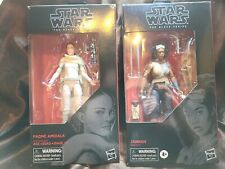 Star Wars The Black Series 6? Padme Amidala #81 And Hannah #98 lot of 2 NIB