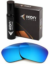 Polarized IKON Iridium Replacement Lenses For Oakley Necessity Ice Blue Mirror