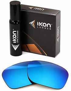 Polarized IKON Replacement Lenses For Costa Del Mar Reefton - Ice Blue