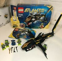 LEGO Atlantis Guardian of the Deep (8058) Plus 4 Extra Characters Complete