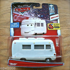Disney PIXAR Cars BUD RV diecast SUPER CHASE Theme DELUXE IMPERFECT CARD Boundin