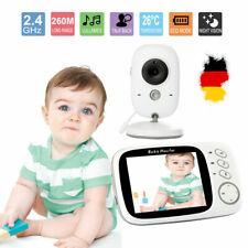 2.4GHz Funk Drahtlos Babyphone mit Kamera Video Monitor Nachtlicht Babyviewer FS