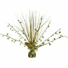 Amscan 12-inch Foil Spray Centrepiece Party Accessory Gold