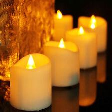 72pcs Flameless LED Candle Flickering Tea Light Battery Birthday Wedding Candles