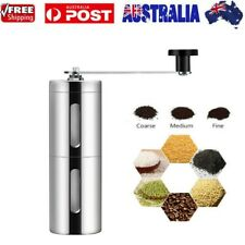Stainless Steel Coffee Bean Manual Grinder Spice / Nuts Grinding Mill Hand Tool