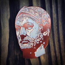 Hannibal Barca art lapel pin by turboPistola punic carthage historical portrait