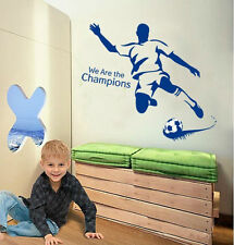 Football Soccer Sport Boys Transparent Wall Sticker Decals Bristol Rovers