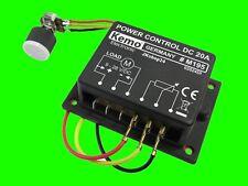 NEU! KEMO M195 PWM -LEISTUNGSREGLER 9-28 V/DC 20A MOTOR-REGLER LAMPEN LED-DIMMER