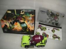 New Transformers Generation Toy GT-01B Gravity Builder Mixer Truck in Stock MISB