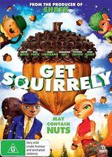 Get Squirrely (DVD, 2017) Brand New & Sealed Region 4