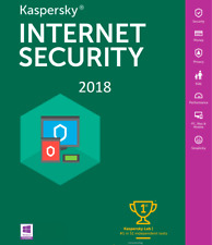 Kaspersky Internet Security 2018-2019 Multi Device 1 User 1 Year Antivirus