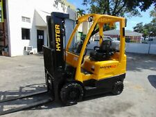 "2015 Hyster 50 Lp / Propane ""5K Lb Capacity"" 3 Stage Mast - Warehouse Forklift"