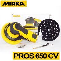 Mirka PROS 650CV 150 mm Central Vacuum 5.0mm Air Powered Random Orbital Sander