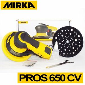Mirka PROS 650CV 150 mm Central Vacuum 5.0mm Air Powered Random Orbital Sander