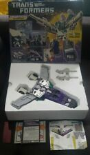 1987 G1 Transformers Sixshot Never played with Unapplied Stickers MIB Complete