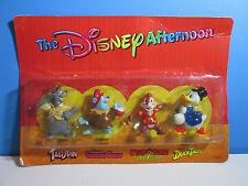 1991 kellogg the disney afternoon figure set (baloo/tummi/dale/scrooge) nip