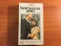 Northanger Abbey VHS Video. BBC Classics by Jane Austen.