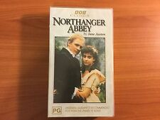 Northanger Abbey VHS Video. BBC Classics by Jane Austen.
