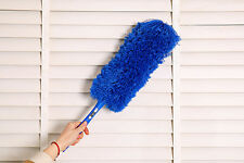 Soft Microfiber Cleaning Duster Magic Anti Static Feather Dust Cleaner Handle UK