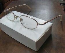 Via Spiga Zyloware Ancona 610 Gold & Cream Eyeglasses FRAMES 49[]19 140