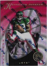 CK7) 1997 Totally Certified KEYSHAWN JOHNSON Platinum Red /4999 New York Jets