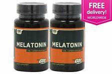 Optimum Nutrition Melatonin 3 mg sleeping aid 200 Tablets - Free Shipping Int'l