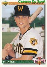069 JON FARRELL TP, ROOKIE PITTSBURGH PIRATES BASEBALL CARD UPPER DECK 1992