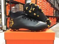 Nike Junior Superfly 6 Academy FG/MG Soccer Cleats (Black/Gold) Size: 1-5 NEW!