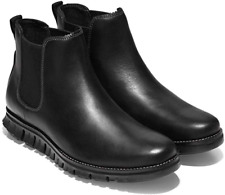 Cole Haan Zerogrand Chelsea Waterproof Boot Black Sneaker Bottom