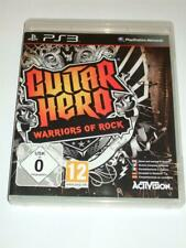 "Guitar Hero Warriors Of Rock Playstation 3  PS3   ""FREE UK P&P"""