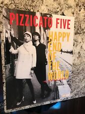 Pizzicato Five 1997 Happy End Of The World Original Promo ONLY Poster 20x12
