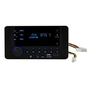 RecPro RV Stereo System CD/DVD/MP3 Player with Bluetooth - Wall Mount Receiver