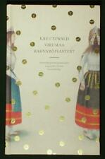 BOOK Estonian Folk Costume Viru Kreutzwald Manuscript antique traditional dress